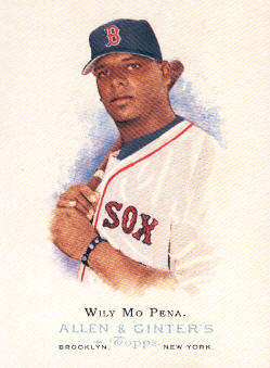2006 Topps Allen and Ginter #32 Wily Mo Pena