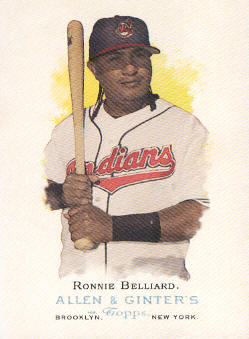 2006 Topps Allen and Ginter #34 Ronnie Belliard