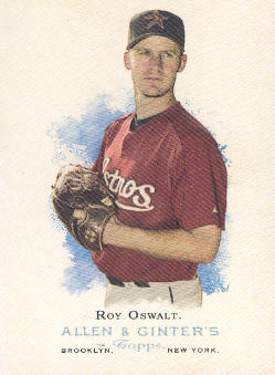 2006 Topps Allen and Ginter #37 Roy Oswalt