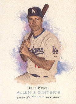 2006 Topps Allen and Ginter #40 Jeff Kent