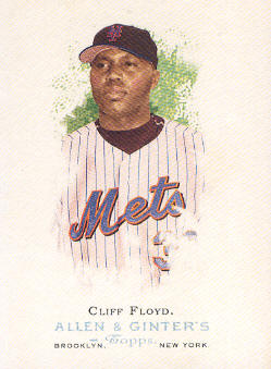 2006 Topps Allen and Ginter #44 Cliff Floyd