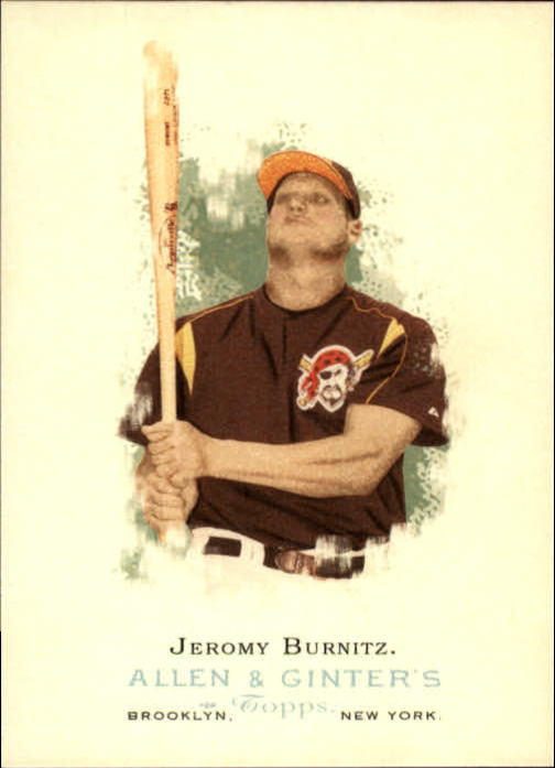 2006 Topps Allen and Ginter #47 Jeromy Burnitz