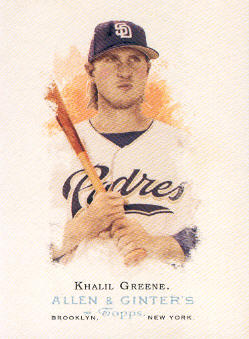 2006 Topps Allen and Ginter #48 Khalil Greene