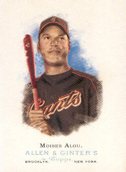 2006 Topps Allen and Ginter #49 Moises Alou