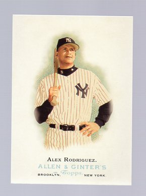 2006 Topps Allen and Ginter #50 Alex Rodriguez SP