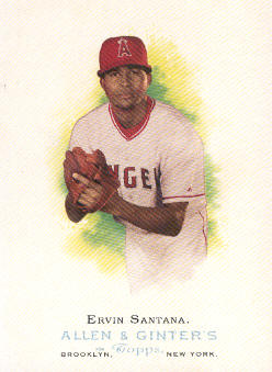2006 Topps Allen and Ginter #51 Ervin Santana SP