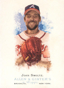 2006 Topps Allen and Ginter #53 John Smoltz SP