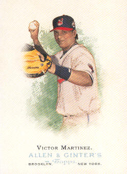 2006 Topps Allen and Ginter #57 Victor Martinez SP