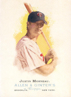 2006 Topps Allen and Ginter #60 Justin Morneau