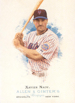 2006 Topps Allen and Ginter #61 Xavier Nady