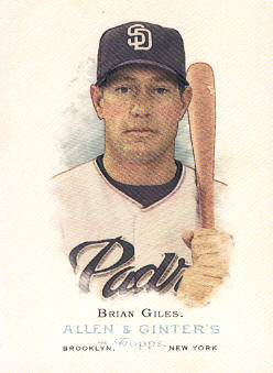 2006 Topps Allen and Ginter #64 Brian Giles