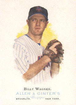 2006 Topps Allen and Ginter #67 Billy Wagner