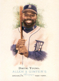 2006 Topps Allen and Ginter #71 Dmitri Young