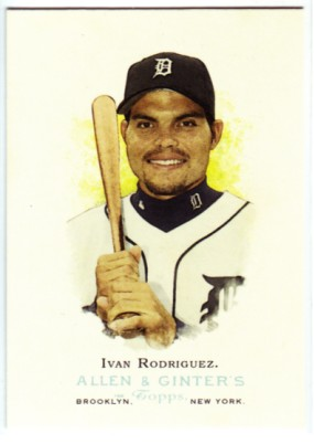2006 Topps Allen and Ginter #72 Ivan Rodriguez