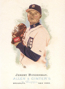 2006 Topps Allen and Ginter #73 Jeremy Bonderman