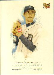 2006 Topps Allen and Ginter #74 Justin Verlander (RC)