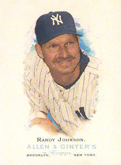 2006 Topps Allen and Ginter #75 Randy Johnson