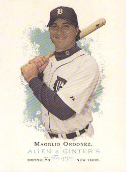 2006 Topps Allen and Ginter #76 Magglio Ordonez