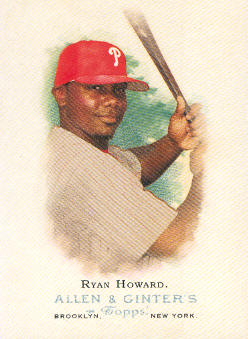 2006 Topps Allen and Ginter #79 Ryan Howard