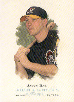 2006 Topps Allen and Ginter #80 Jason Bay