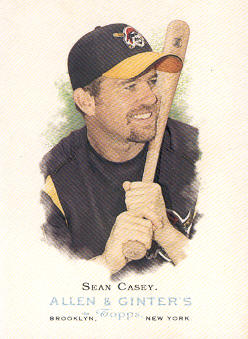 2006 Topps Allen and Ginter #81 Sean Casey