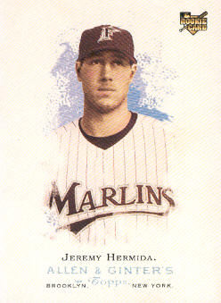2006 Topps Allen and Ginter #82 Jeremy Hermida (RC)
