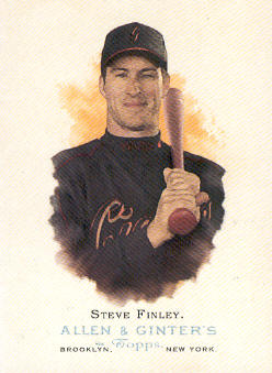 2006 Topps Allen and Ginter #86 Steve Finley