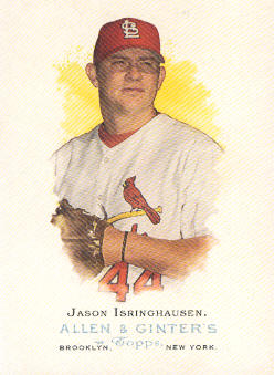 2006 Topps Allen and Ginter #88 Jason Isringhausen