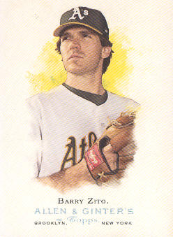 2006 Topps Allen and Ginter #90 Barry Zito