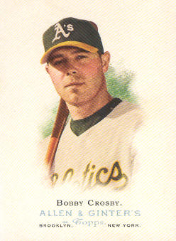 2006 Topps Allen and Ginter #91 Bobby Crosby