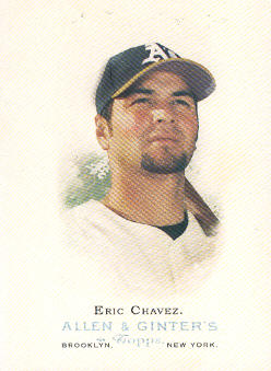2006 Topps Allen and Ginter #92 Eric Chavez