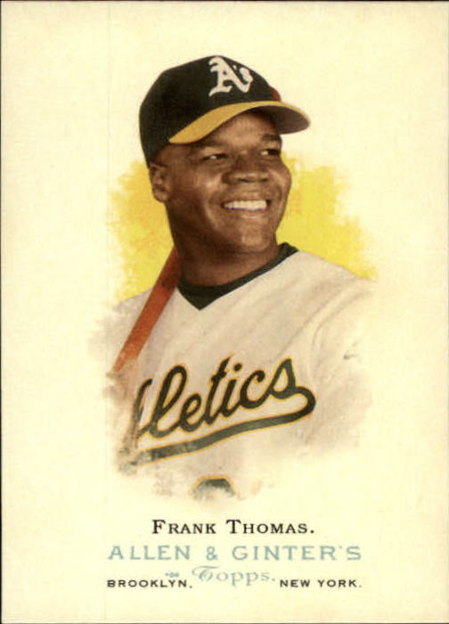 2006 Topps Allen and Ginter #93 Frank Thomas