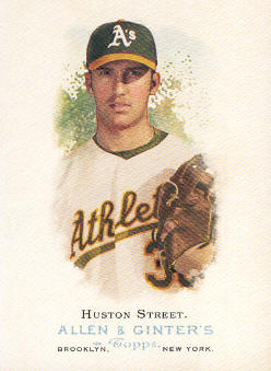 2006 Topps Allen and Ginter #94 Huston Street