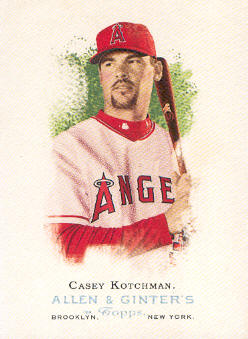 2006 Topps Allen and Ginter #96 Casey Kotchman
