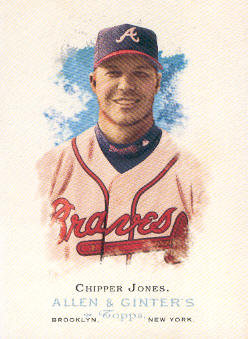 2006 Topps Allen and Ginter #98 Chipper Jones