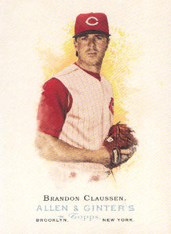 2006 Topps Allen and Ginter #102 Brandon Claussen