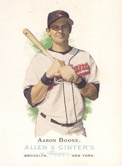 2006 Topps Allen and Ginter #103 Aaron Boone