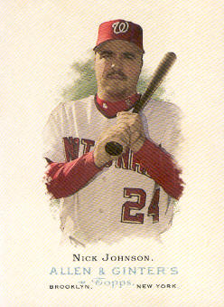 2006 Topps Allen and Ginter #106 Nick Johnson