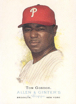 2006 Topps Allen and Ginter #107 Tom Gordon