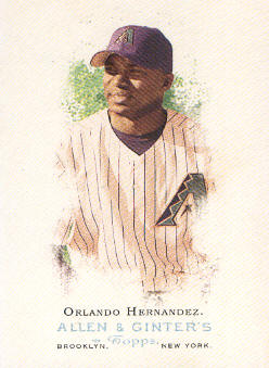 2006 Topps Allen and Ginter #108 Orlando Hernandez