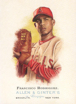 2006 Topps Allen and Ginter #109 Francisco Rodriguez