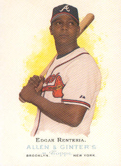 2006 Topps Allen and Ginter #111 Edgar Renteria