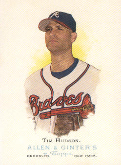 2006 Topps Allen and Ginter #112 Tim Hudson