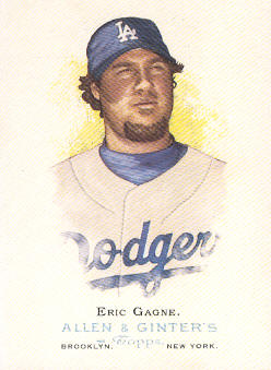 2006 Topps Allen and Ginter #123 Eric Gagne