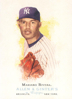 2006 Topps Allen and Ginter #125 Mariano Rivera SP