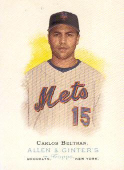 2006 Topps Allen and Ginter #126 Carlos Beltran