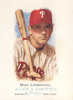 2006 Topps Allen and Ginter #130 Mike Lieberthal
