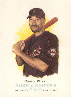 2006 Topps Allen and Ginter #133 Randy Winn