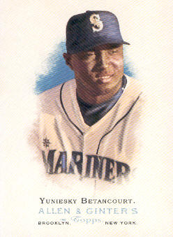 2006 Topps Allen and Ginter #134 Yuniesky Betancourt