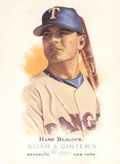 2006 Topps Allen and Ginter #138 Hank Blalock
